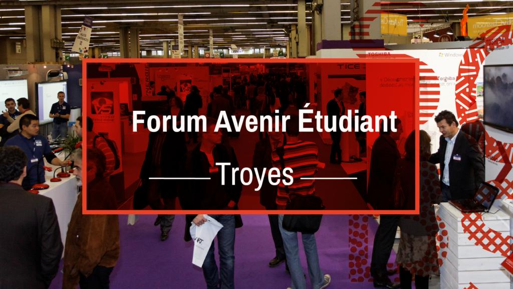 forum avenir étudiant troyes